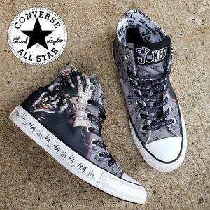 Batman's The Joker HA HA Converse Sneakers
